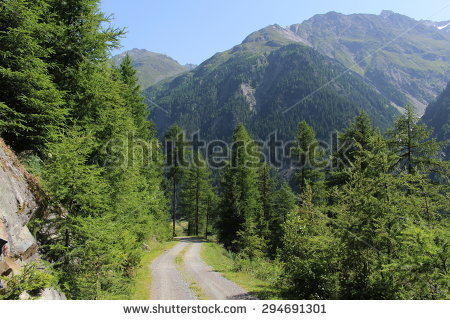 Unpaved Route Stock Photos, Royalty.
