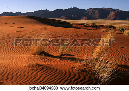 Stock Photography of Southern foothills of the Namib desert, sand.