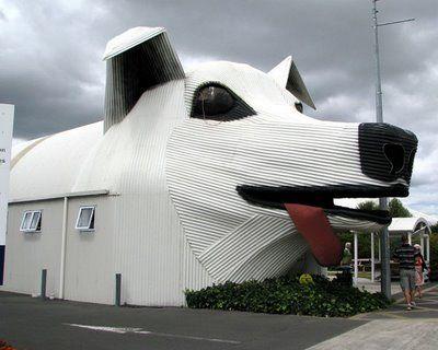 Sheepdog building (Tirau, Waikato, New Zealand) http://www.