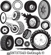 Tires Clip Art.