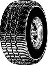 Tire clipart free.
