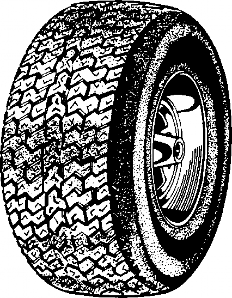 tire clipart clipart kid For Mobile Tire Black PNG Clip Art Top.