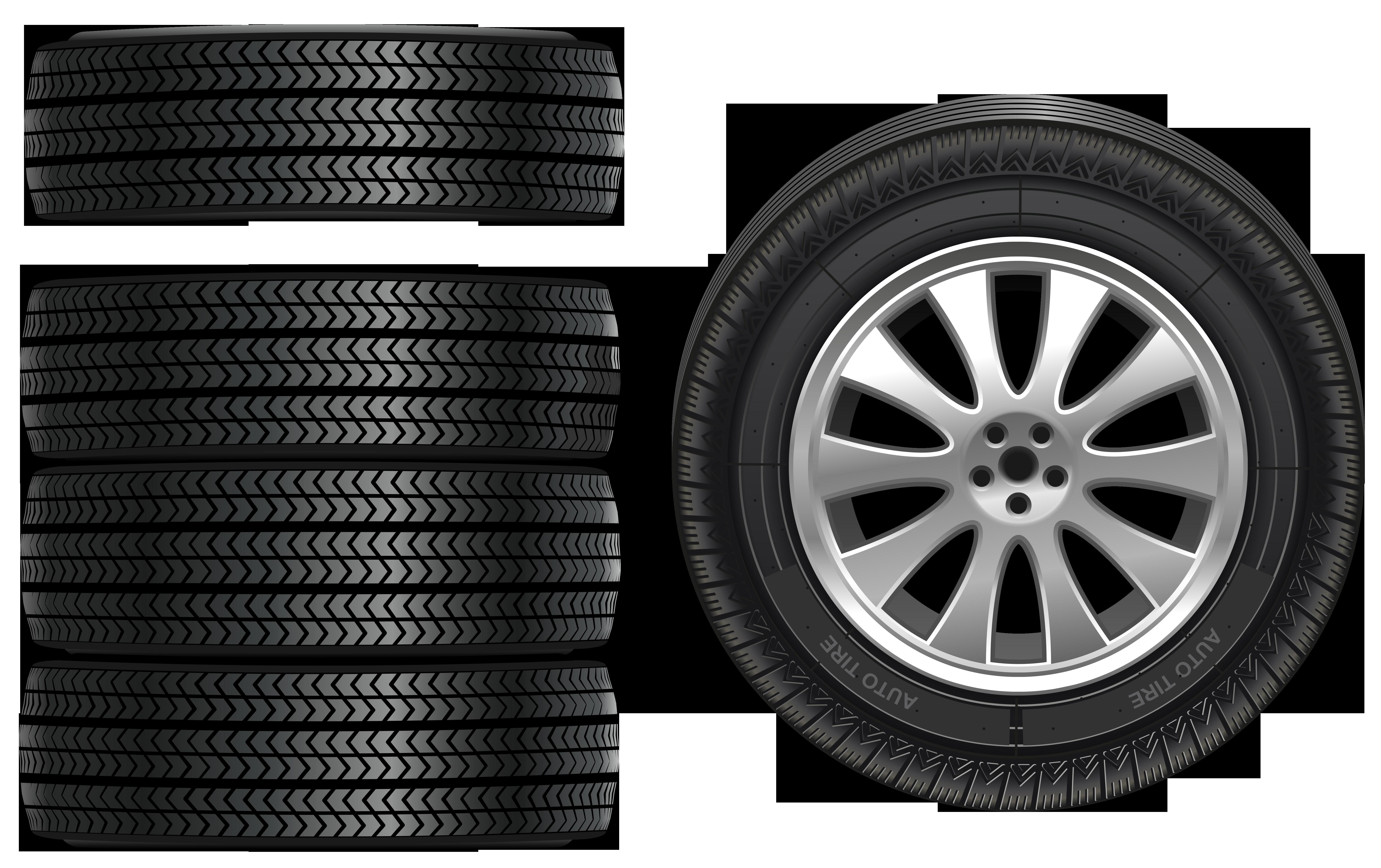 Tires PNG Clip Art.