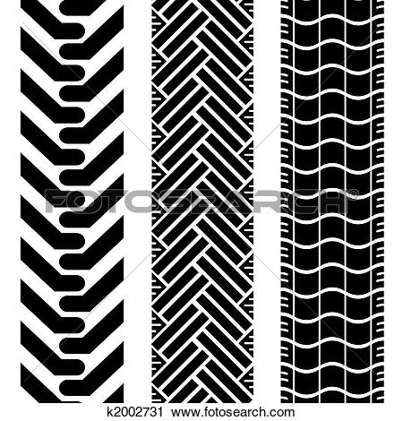 Clipart of offroad tires two k2002731.