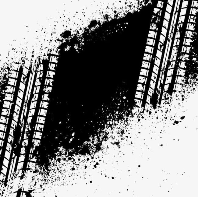 Black Tire Marks PNG, Clipart, Black Clipart, Indian, Indian.