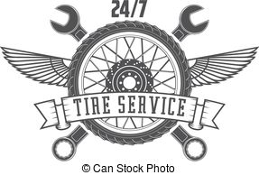 Tire service Clip Art and Stock Illustrations. 6,381 Tire service.