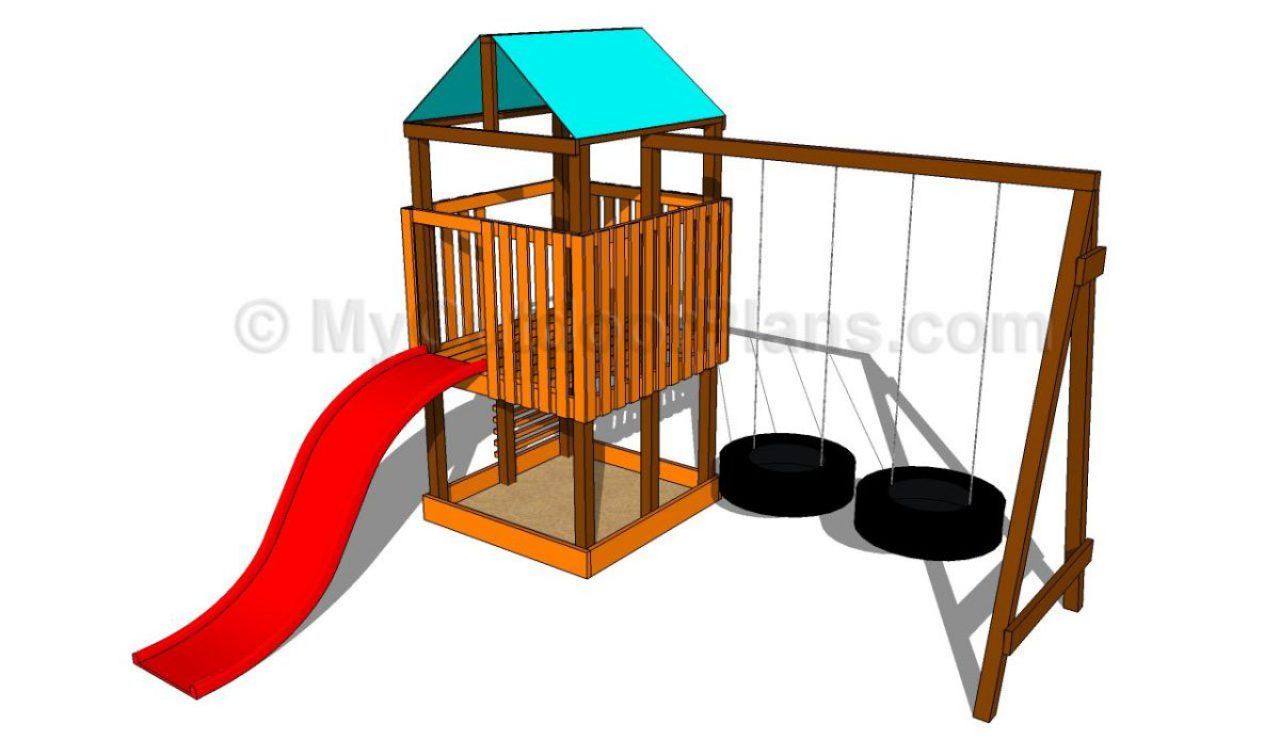 34 Free DIY Swing Set Plans for Your Kids' Fun Backyard Play Area.