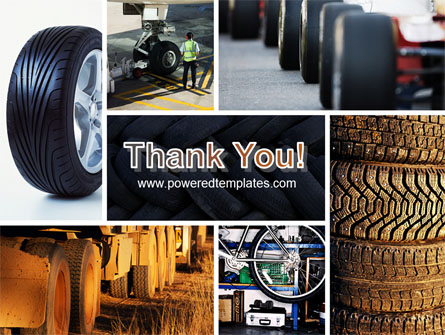 Tire PowerPoint Template, Backgrounds.