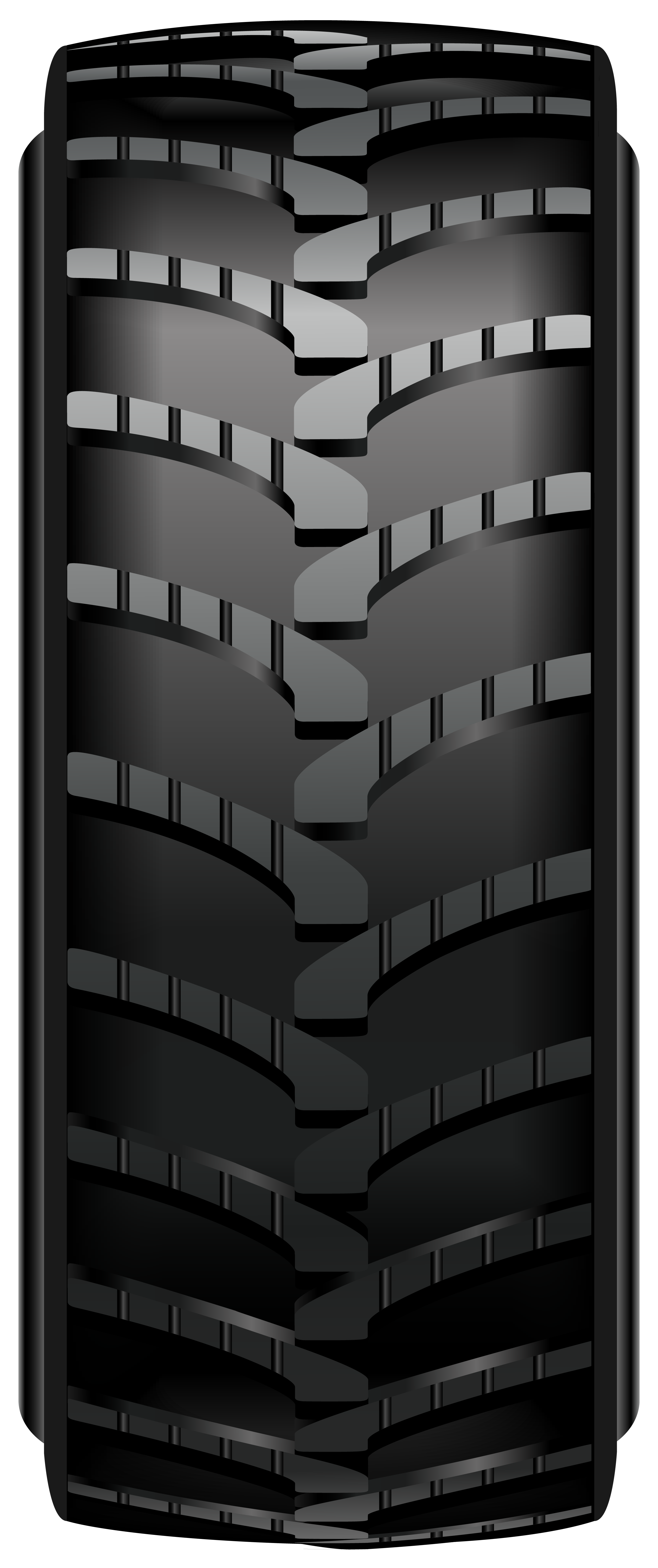 Car Tire PNG Clip Art.