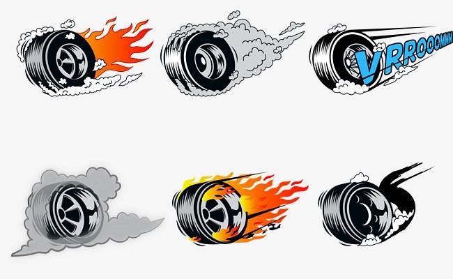 Tire smoke clipart 9 » Clipart Portal.