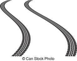 Tire tracks Clip Art and Stock Illustrations. 3,681 Tire tracks.