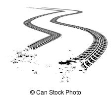 Tire tracks Clip Art and Stock Illustrations. 3,681 Tire tracks.