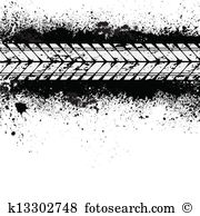 Tire track Clip Art Royalty Free. 2,576 tire track clipart vector.
