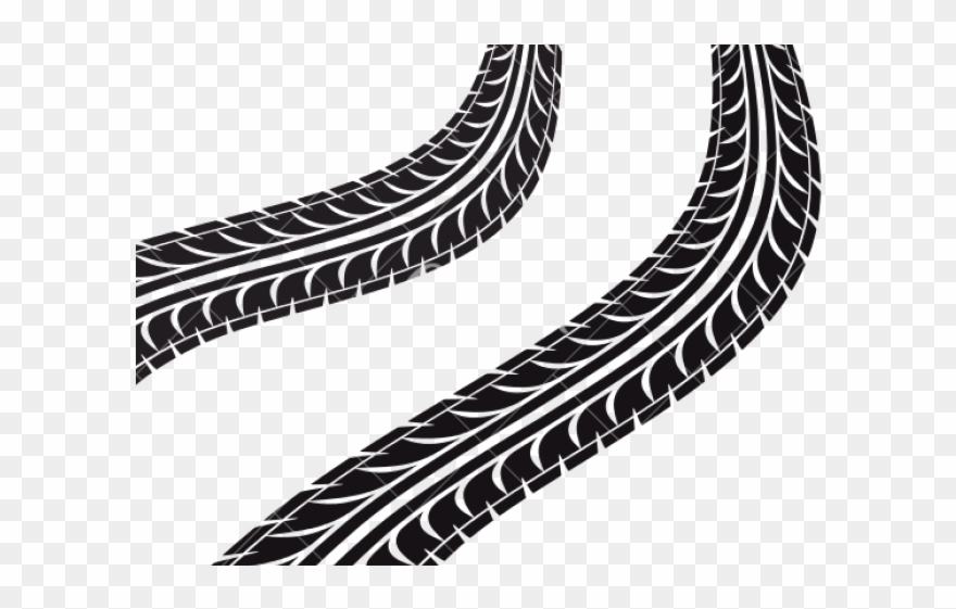 Finish Line Clipart Truck Tire Track.