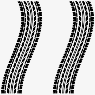 Tread Tire Car Mark Tracks Skid.