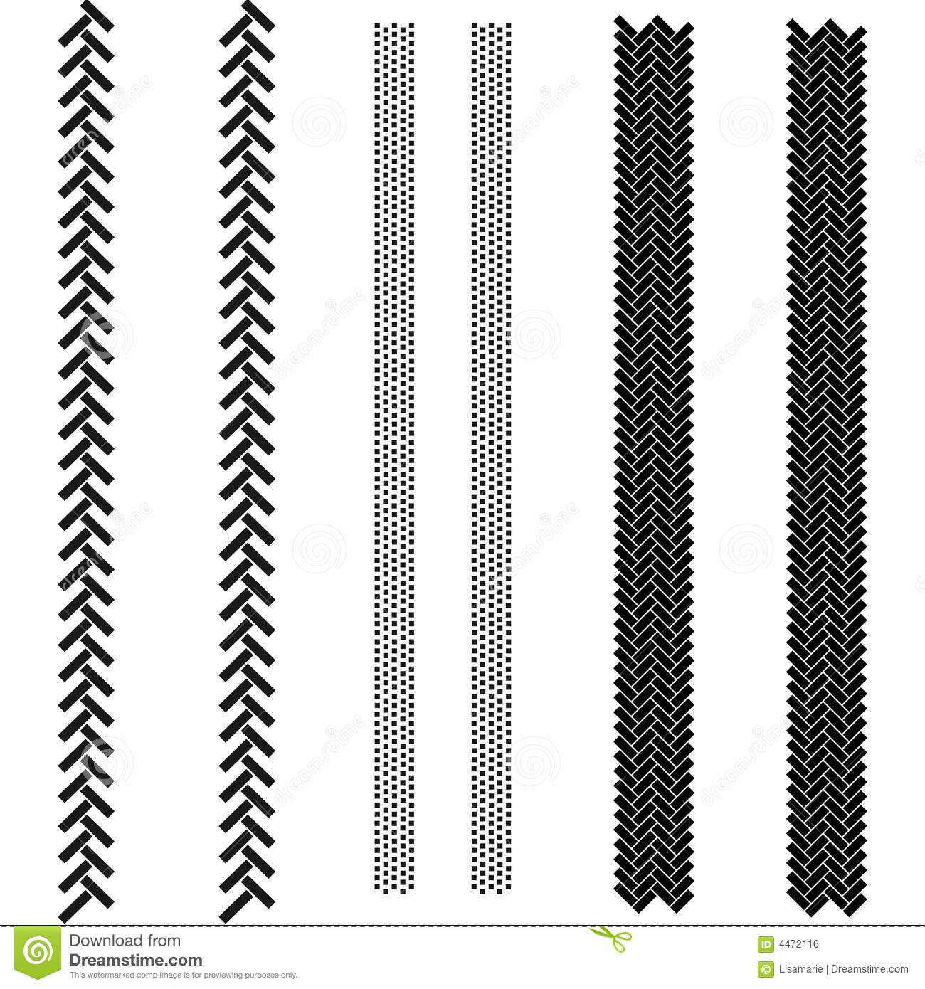 Tractor Tire Tracks Clipart.