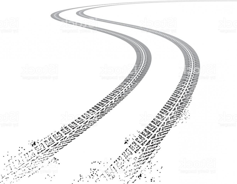 Vector Grunge Tire Tracks Gm.