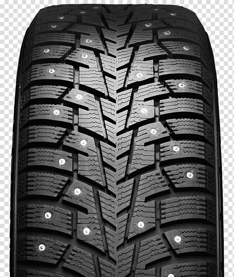 Car Iceland Snow tire Tread, tyre transparent background PNG.