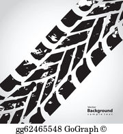 Tire Tread Clip Art.
