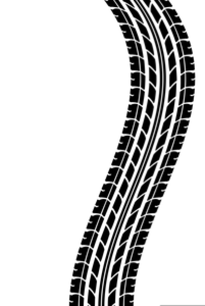 Motorcycle Tire Tread Clipart PNG.