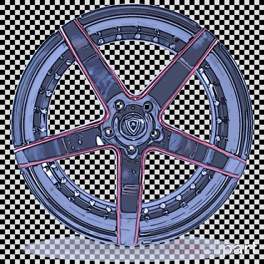 alloy wheel rim wheel spoke tire clipart.