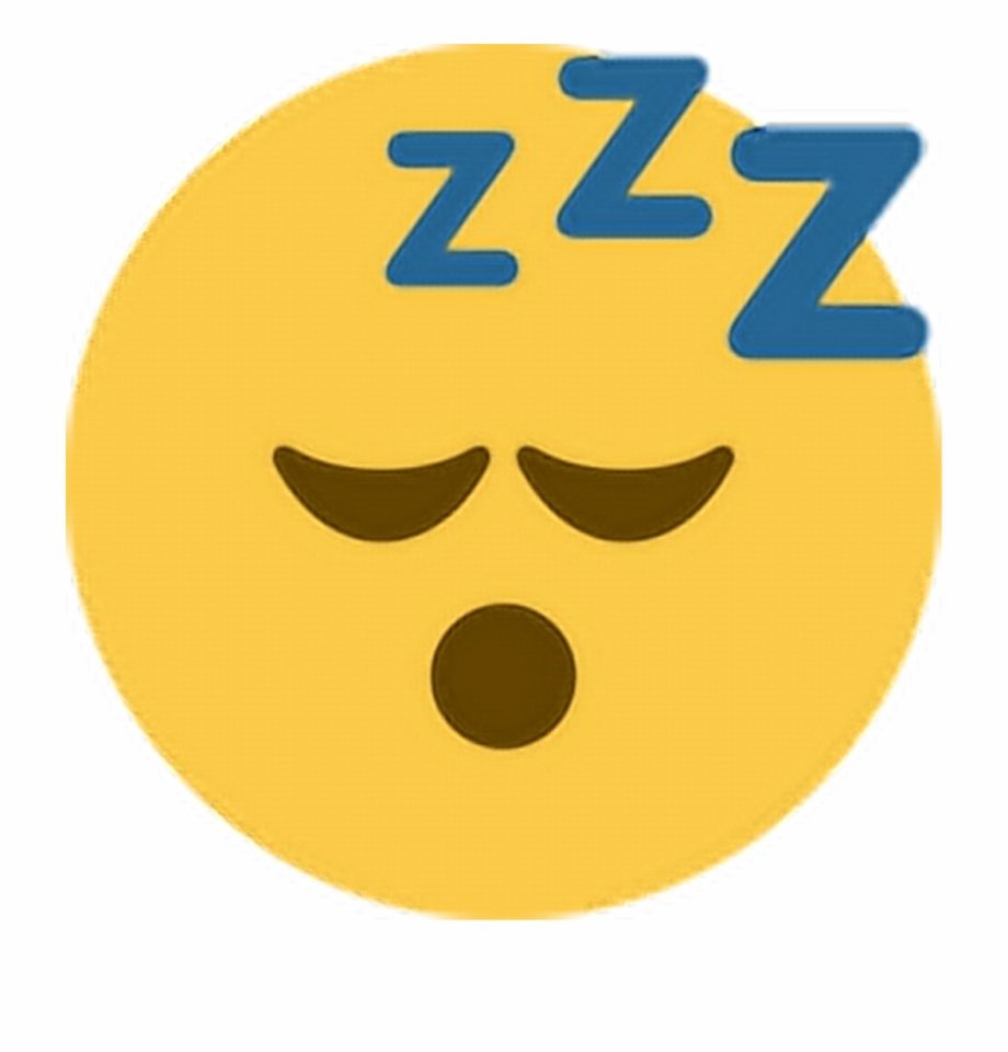 Png Library Sleep Sleepy Zzz Emoji Emoticon Expression.