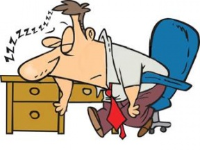 Tired People Clipart.
