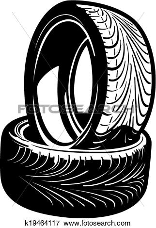 Tires Clip Art and Illustration. 21,525 tires clipart vector EPS.