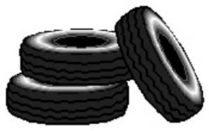 Free Clip Art Tires.