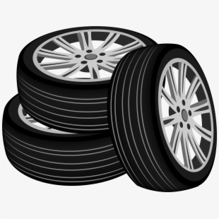 Transparent Background Tire Vector , Transparent Cartoon.