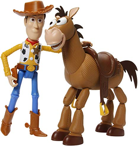 Toy Story Disney Pixar 4 Woody & Bullseye Adventure Pack.