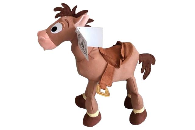 Peluche Toy Story Caballo Tiro Al Blanco 26cm.