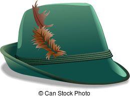 Vectors Illustration of Bavaria Hat.