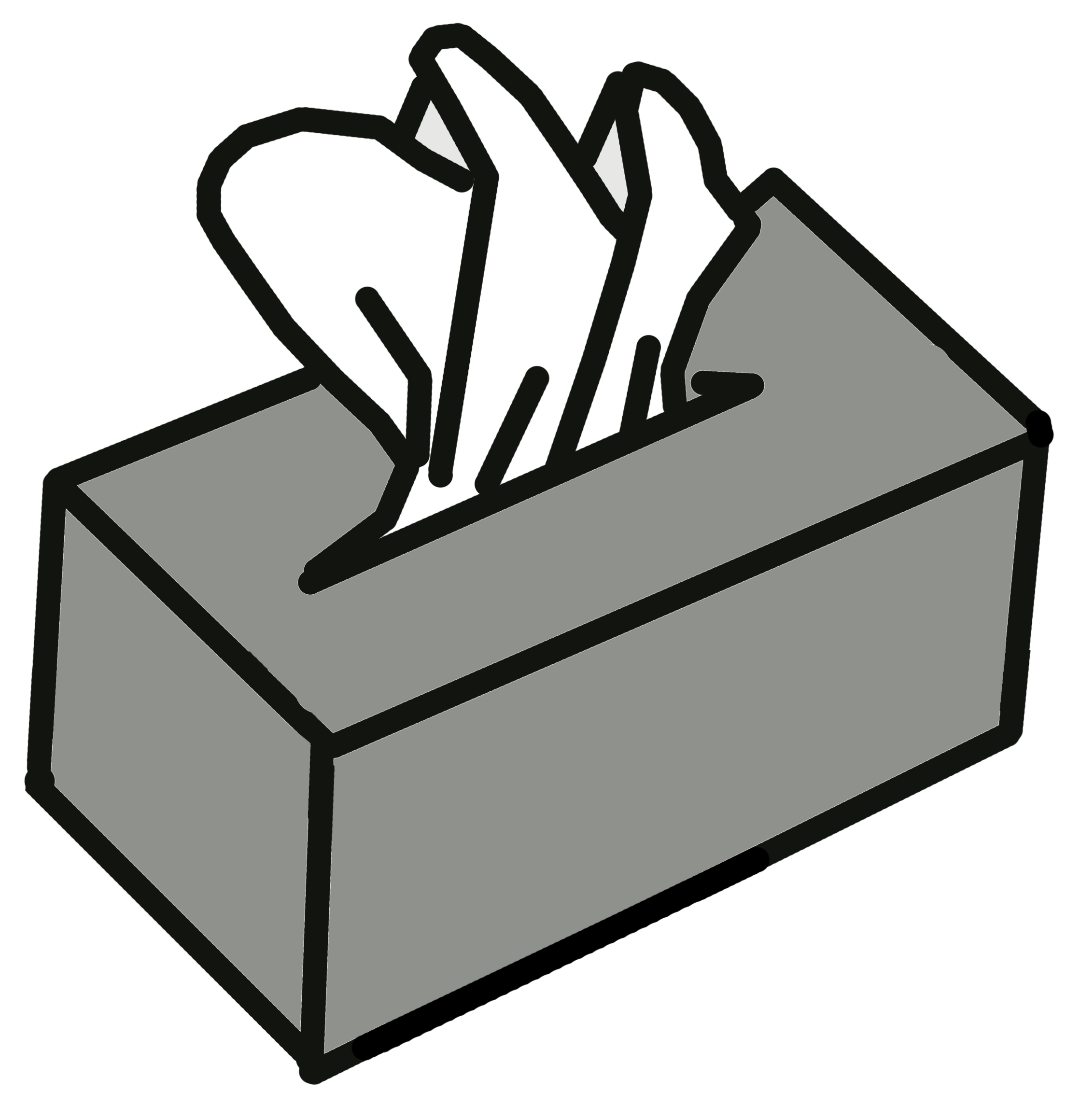 Free Tissue Box Clipart Black And White, Download Free Clip.
