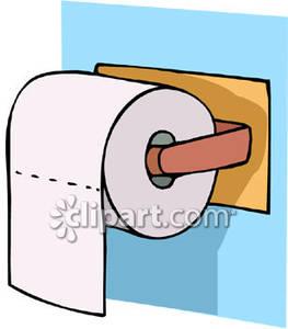 Tissue roll clipart.