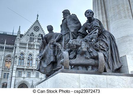 Picture of Istvan Tisza Statue.