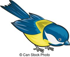 Tit bird Clipart Vector and Illustration. 356 Tit bird clip art.