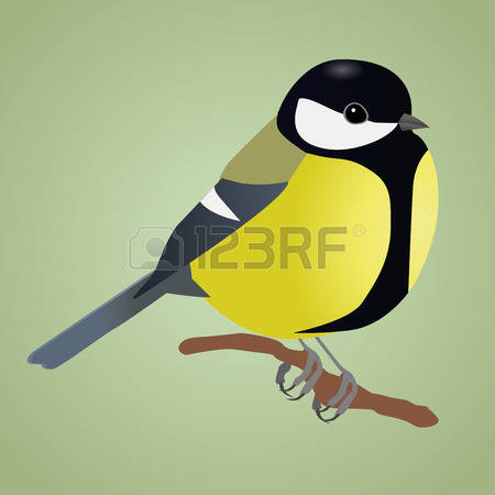 685 Bird Tit Stock Vector Illustration And Royalty Free Bird Tit.
