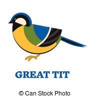 Blue tit Clip Art Vector Graphics. 185 Blue tit EPS clipart vector.