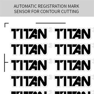 "28"" USCutter TITAN 3 Professional Sign Vinyl Cutter w/ARMS."