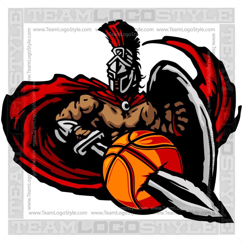 Titan Basketball Graphic.