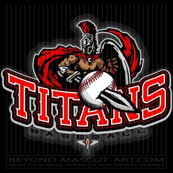 Baseball Titan Design.