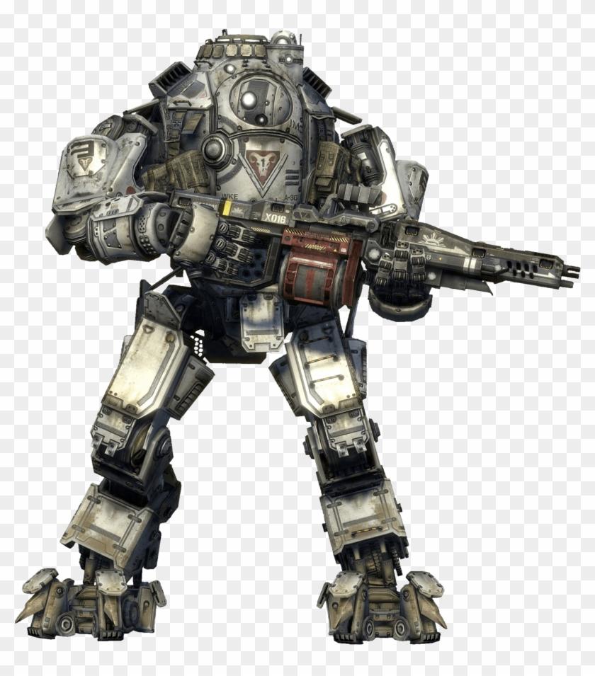 Titanfall Titan Concept Art.