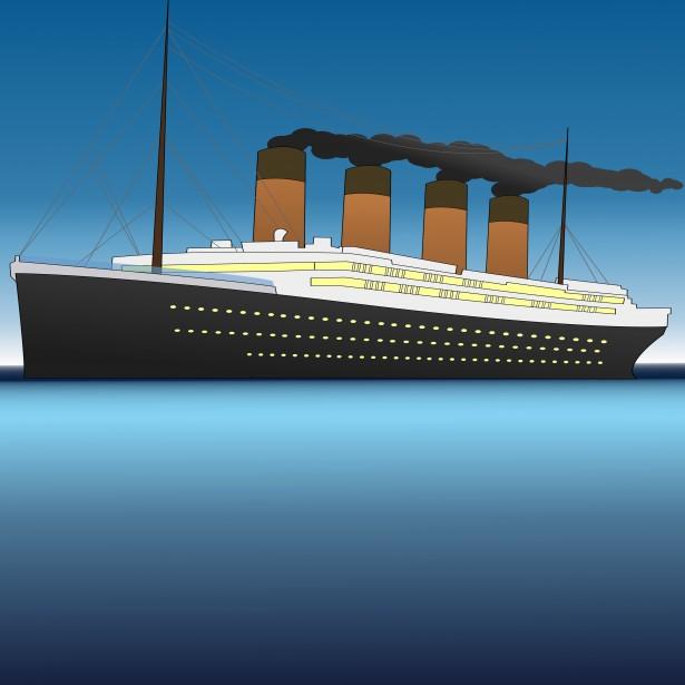 Titanic Clip Art Page 1.