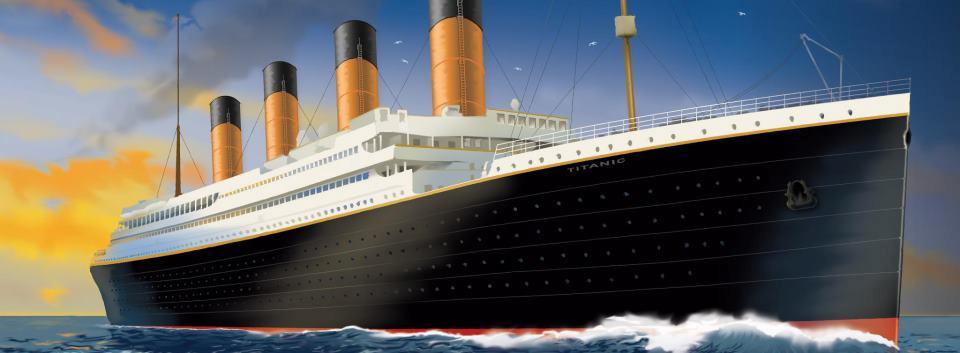 Titanic Ship Clipart.