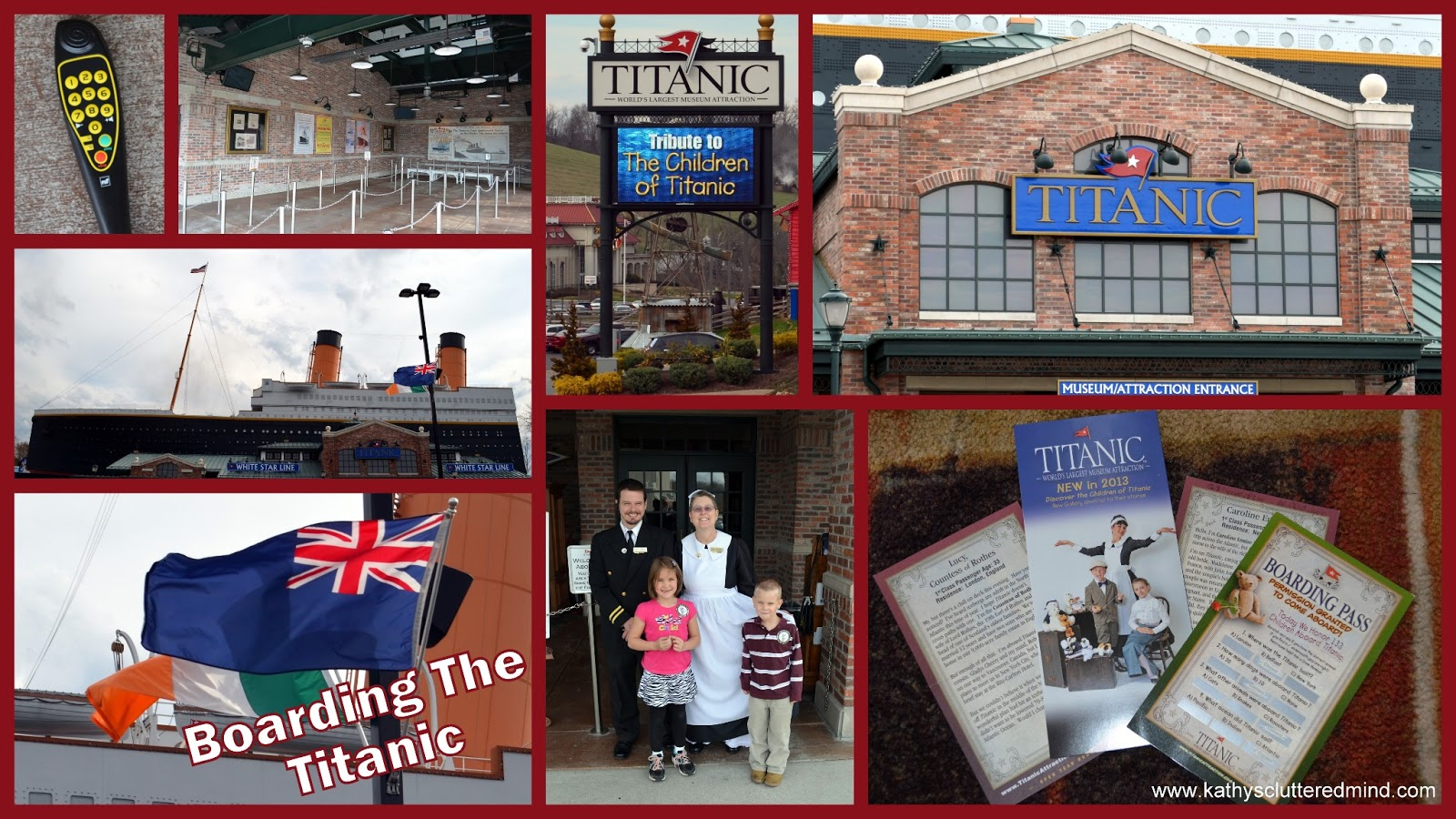 Kathys Cluttered Mind: Hands On History At The Titanic.