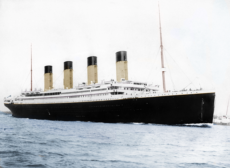 File:Titanic Colourised, photographed in Southampton.png.