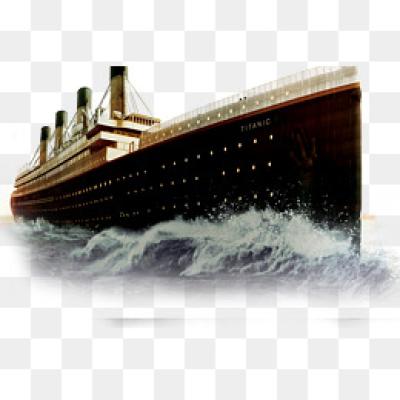 Titanic PNG.