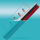 Titanic Sinking Stock Illustrations.