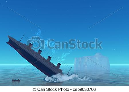 Titanic Illustrations and Clip Art. 351 Titanic royalty free.